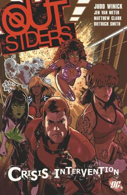 Cover for the Outsiders: Crisis Intervention Trade Paperback
