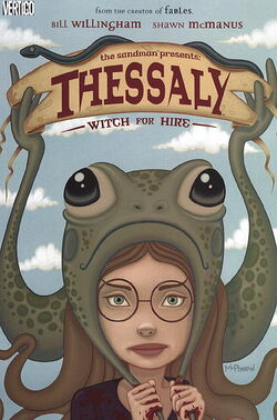 Cover for the Thessaly: Witch For Hire Trade Paperback
