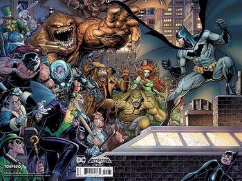 Torpedo Comics Exclusive Textless Arthur Adams Wraparound Cover