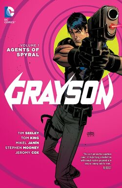 Cover for the Grayson: Agents of Spyral Trade Paperback