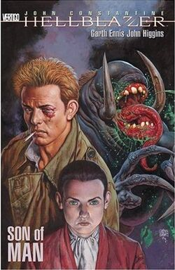 Cover for the Hellblazer: Son of Man Trade Paperback