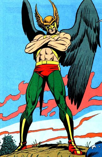 Image result for Interplanetary policeman Katar Hol and his wife Shayera of the planet Thanagar