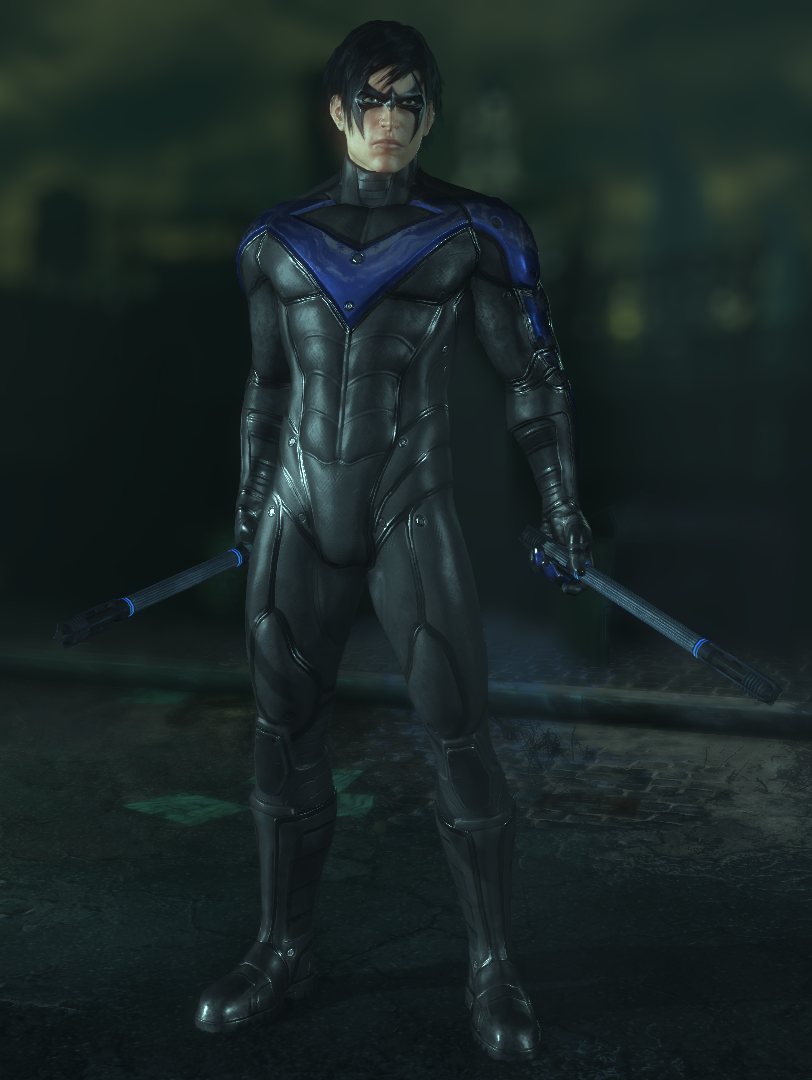 Nightwing Arkham City