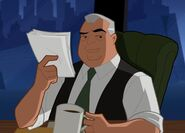 Perry White Justice League Action 0001
