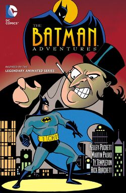 Cover for the Batman Adventures Vol. 1 Trade Paperback