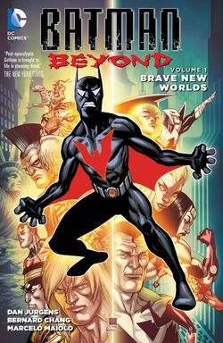 Cover for the Batman Beyond: Brave New Worlds Trade Paperback