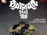 Batman: Year 100 Vol 1 1
