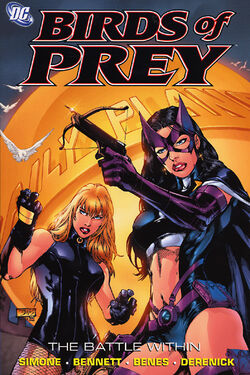 Cover for the Birds of Prey: The Battle Within Trade Paperback