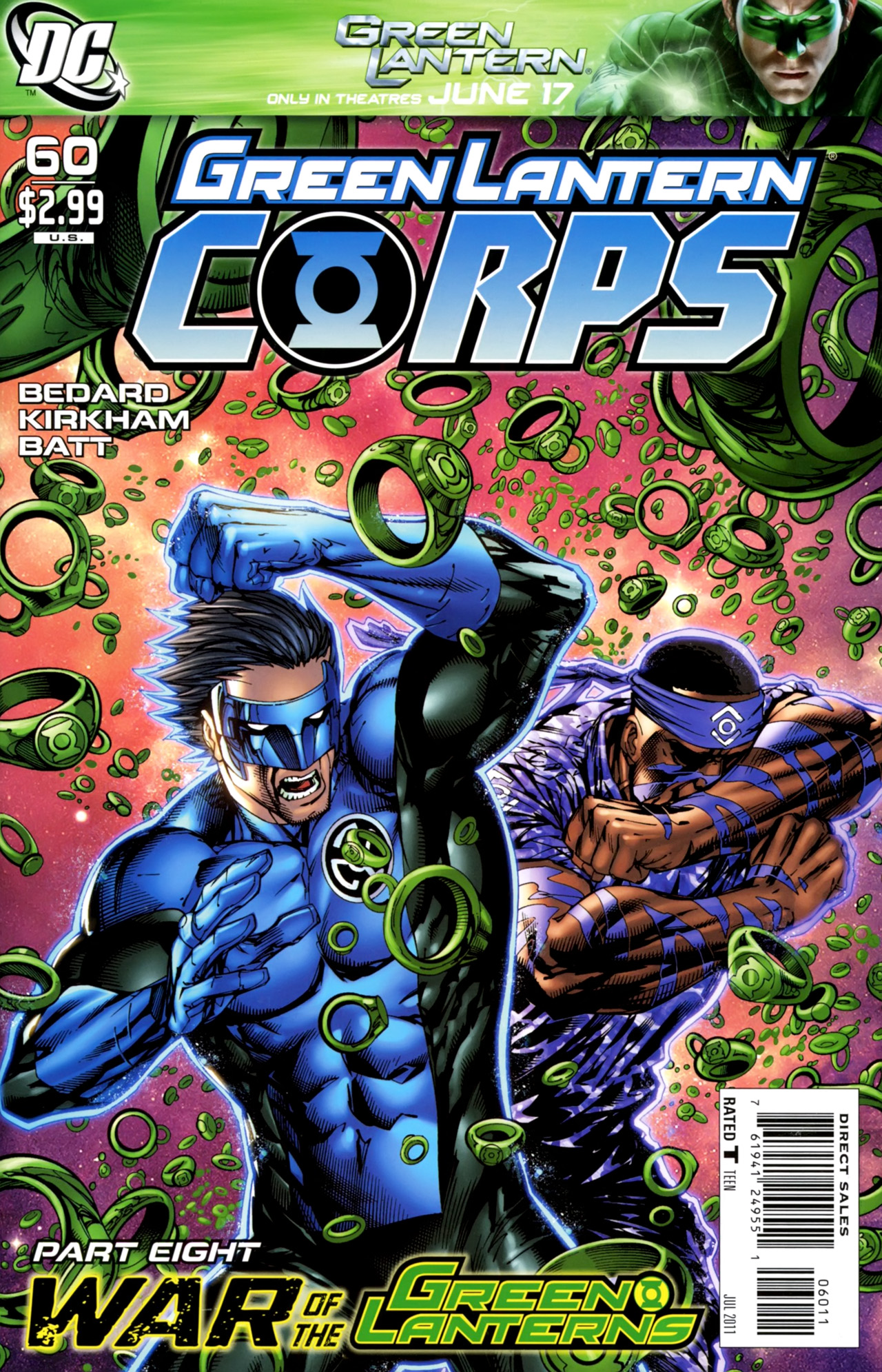 Green Lantern Corps Vol 2 60 | DC Database | FANDOM ...