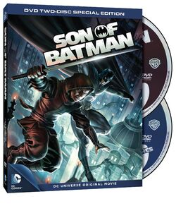 Son of Batman cover