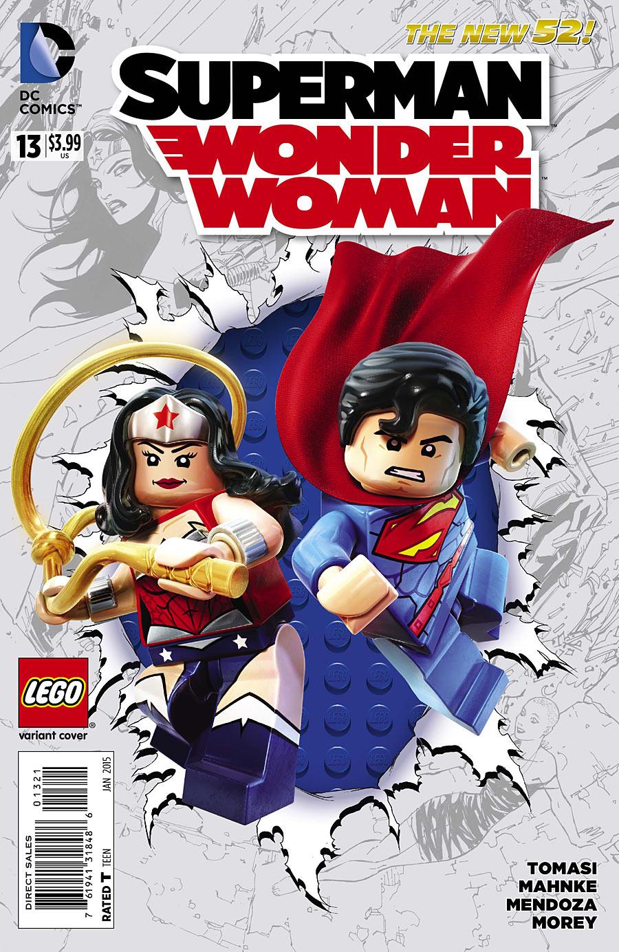 Image - Superman-Wonder Woman Vol 1 13 Lego Variantjpg -9155