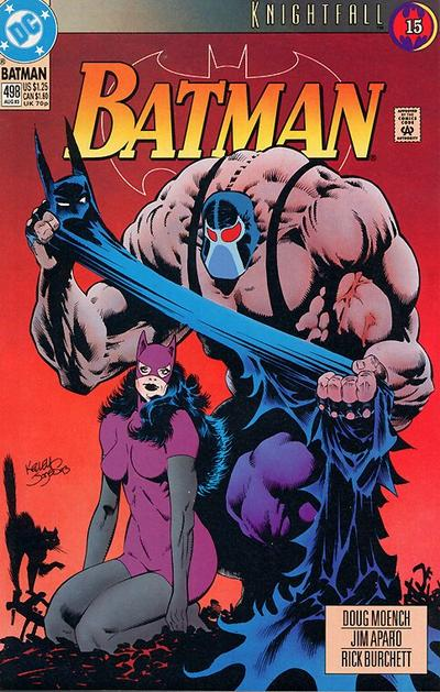 BATMAN #502 VERY FINE 1993 DC COMICS KNIGHTQUEST
