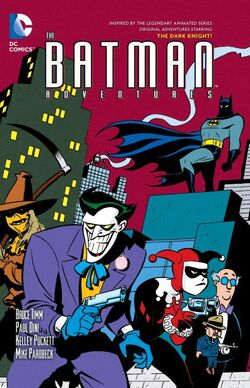 Cover for the Batman Adventures Vol. 3 Trade Paperback