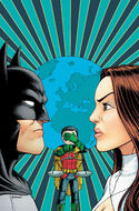 Talia's conflict with Batman leaves their son caught in the middle