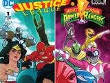 Justice League/Power Rangers Vol 1 1