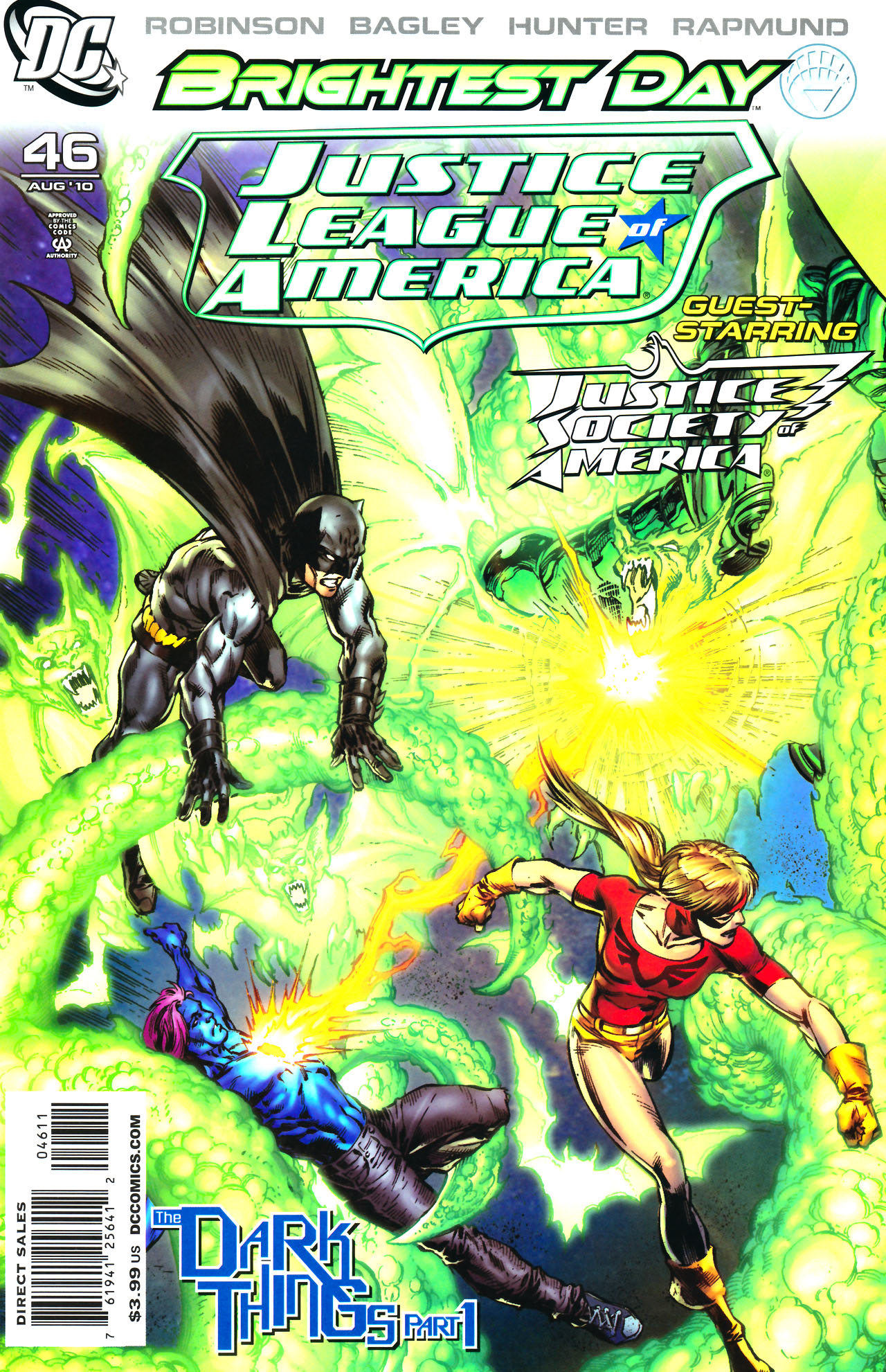 Justice League Of America The Dark Things Dc Database Fandom