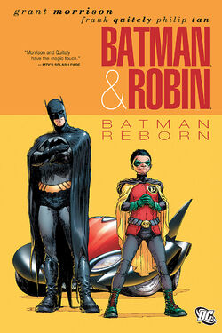 Cover for the Batman and Robin: Batman Reborn Trade Paperback