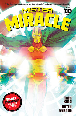 Cover for the Mister Miracle Trade Paperback
