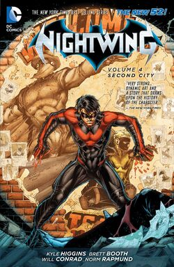 Cover for the Nightwing: Second City Trade Paperback