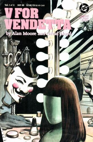 V for vendetta comic book
