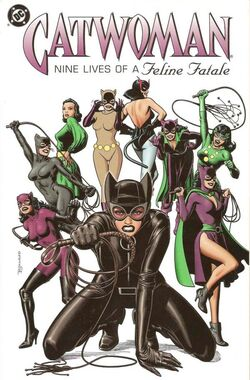Cover for the Catwoman: Nine Lives of a Feline Fatale Trade Paperback