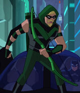 Green Arrow Justice League Action 0001