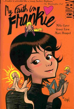 Cover for the My Faith in Frankie Trade Paperback