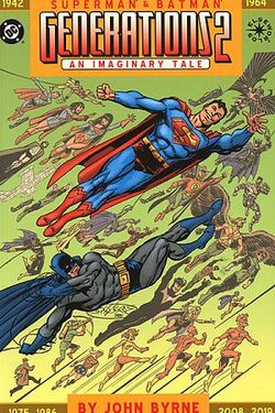 Cover for the Superman & Batman: Generations II Trade Paperback