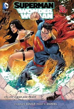 Cover for the Superman/Wonder Woman: War and Peace Trade Paperback