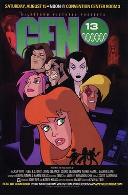 Gen 13 Movie poster