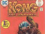 Kong the Untamed Vol 1 1