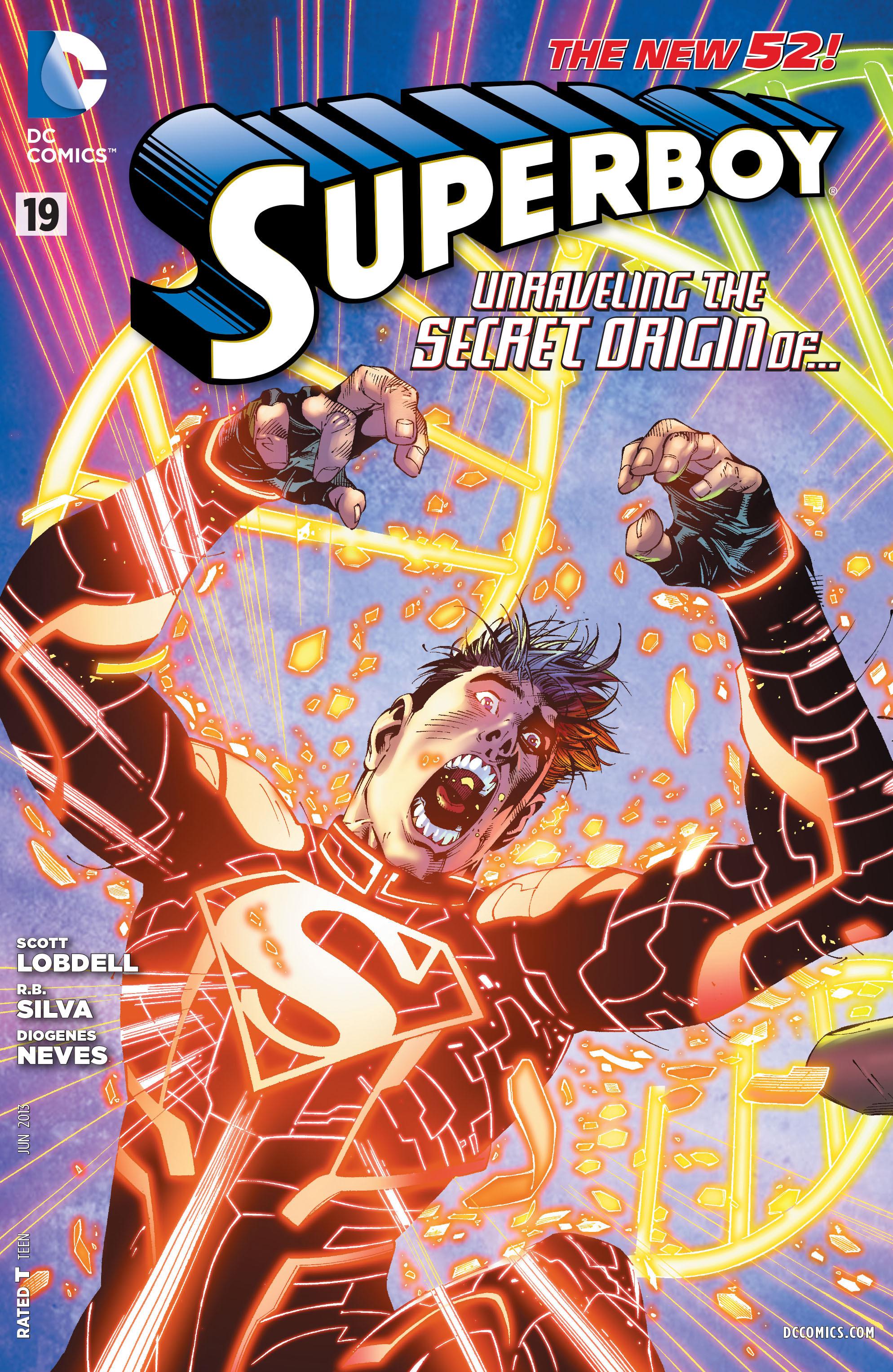 Resultado de imagem para superboy # 19]