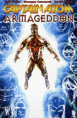 Cover for the Captain Atom: Armageddon Trade Paperback