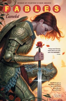 Cover for the Fables: Camelot Trade Paperback