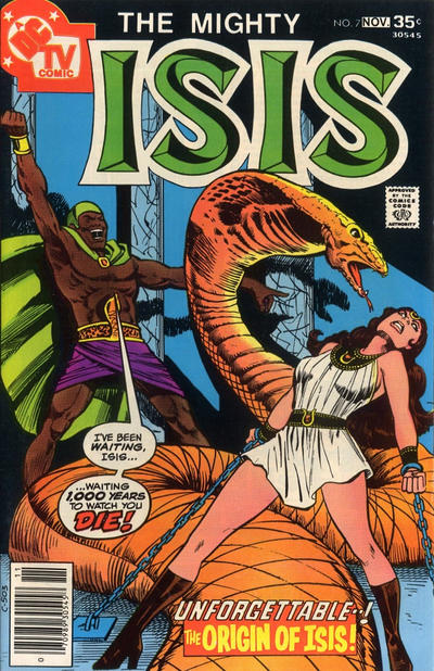 Isis Vol 1 7 Dc Database Fandom Powered By Wikia
