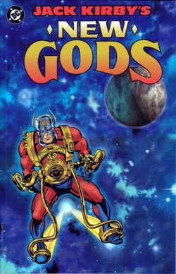 Cover for the Jack Kirby's New Gods Trade Paperback