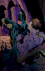 Batman fights Colin Wilkes
