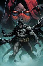 Batman hunts Jason.