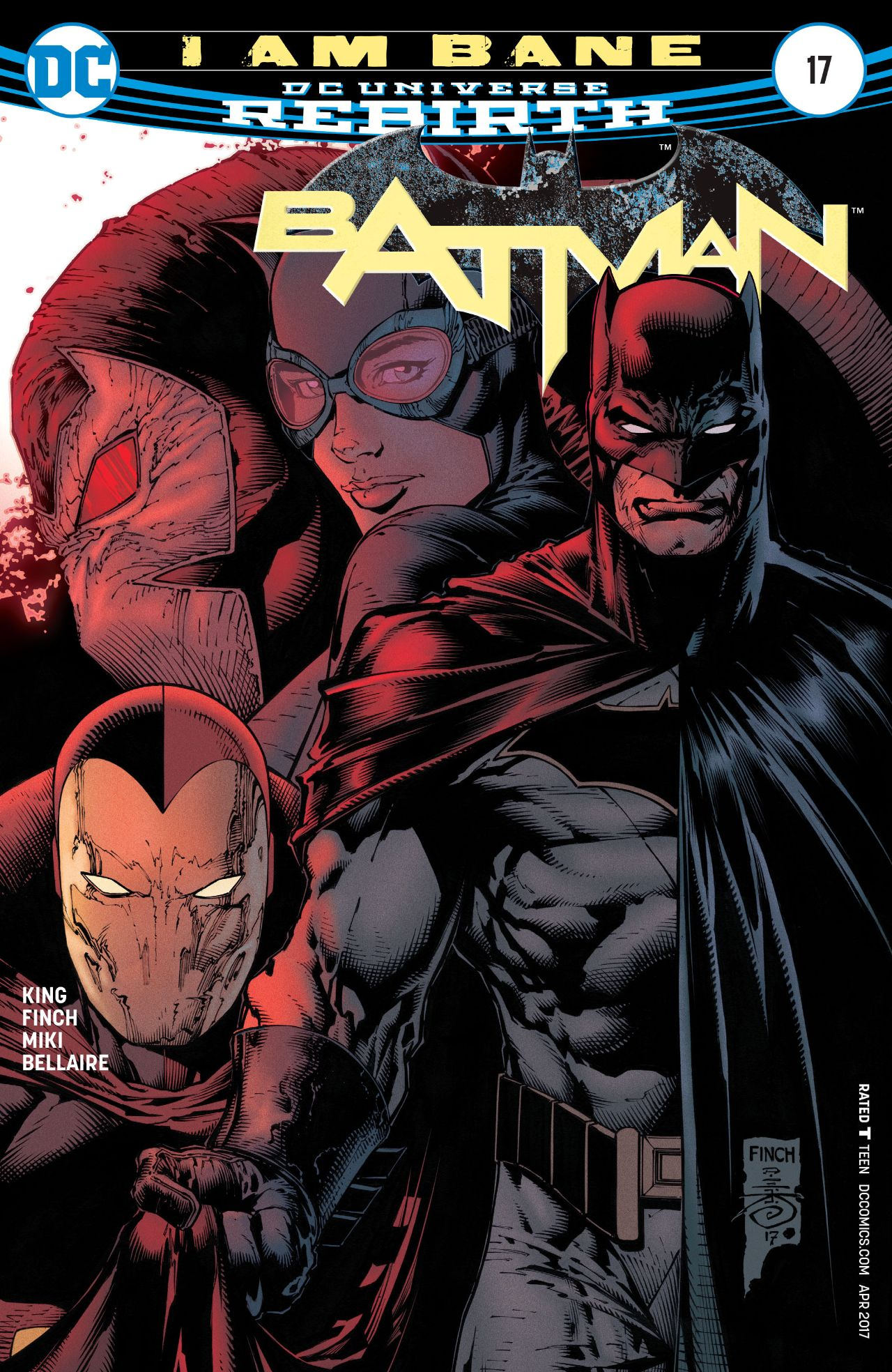 Rebirth    Panini Comics  2017 Batman 1 2