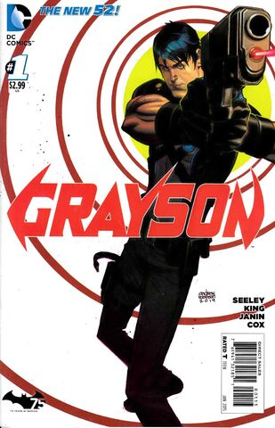 File:Grayson Vol 1 1 3rd Printing.jpg
