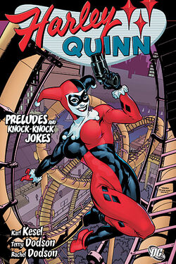 Cover for the Harley Quinn: Preludes and Knock-Knock Jokes Trade Paperback