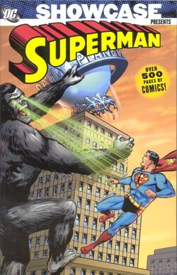Cover for the Showcase Presents: Superman Vol. 2 Trade Paperback