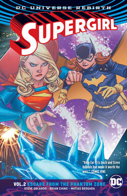 Cover for the Supergirl: Escape from the Phantom Zone Trade Paperback