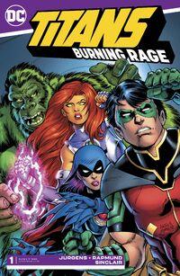 Titans Burning Rage Vol 1 1