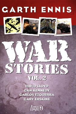 Cover for the War Stories Vol. 2 Trade Paperback