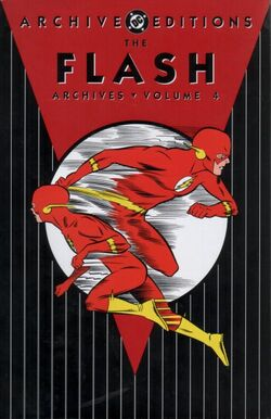 Cover for the The Flash Archives Vol. 4 Trade Paperback