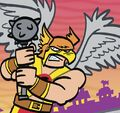 Hawkman Tiny Titans 001