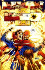 Grandfather and grandson team-up against Superboy-Prime.