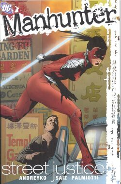 Cover for the Manhunter: Street Justice Trade Paperback