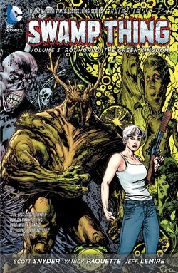 Cover for the Swamp Thing: Rotworld - The Green Kingdom Trade Paperback